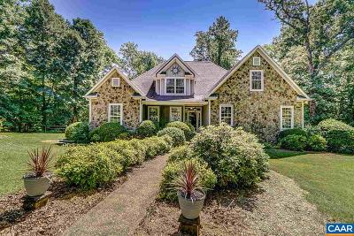 Albemarle County Single Family Home For Sale: 1520 Church Plains Dr