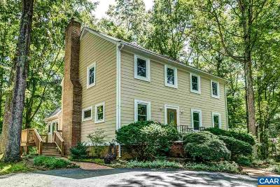 Charlottesville Single Family Home For Sale: 2295 Whippoorwill Rd