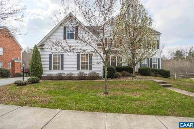 Albemarle County Single Family Home For Sale: 3262 Turnberry Cir
