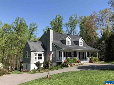 Charlottesville Single Family Home For Sale: 2118 Owensville Rd