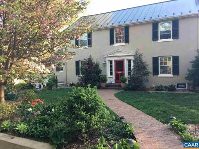 Charlottesville Single Family Home For Sale: 1859 Wayside Pl
