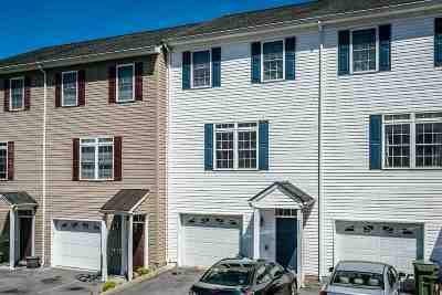 Harrisonburg Townhome For Sale: 2313 Kendall Ln