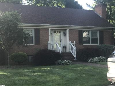 Staunton VA Single Family Home For Sale: $187,000