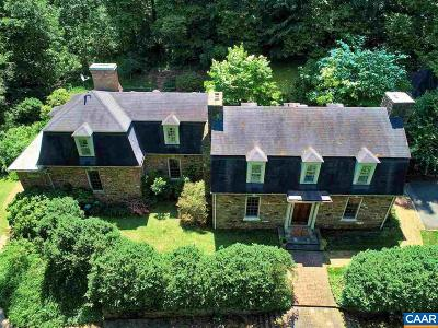 Single Family Home For Sale: 9535 Woodberry Forest Rd