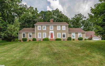 Staunton VA Single Family Home For Sale: $450,000