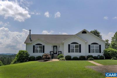Albemarle County Single Family Home For Sale: 8424 Chestnut Grove Rd