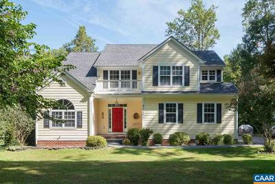 Charlottesville Single Family Home For Sale: 2948 Catlett Rd