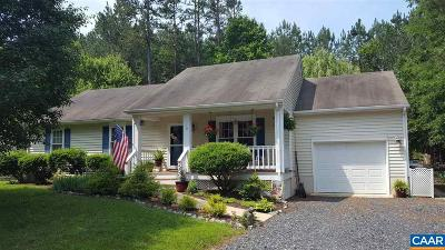 Fluvanna County Single Family Home For Sale: 16 Bernardsburg Rd
