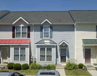 Harrisonburg Townhome For Sale: 1034 Betsy Ross Ct