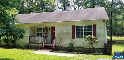 Fluvanna County Single Family Home For Sale: 125 Jefferson Dr