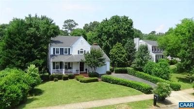 Charlottesville Single Family Home For Sale: 1606 Old Brook Rd