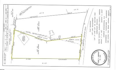 Augusta County Lots & Land For Sale: Hermitage Estates Rd