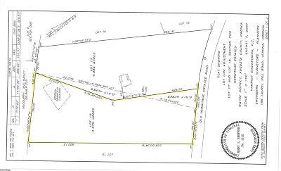 Waynesboro Lots & Land For Sale: Hermitage Estates Rd
