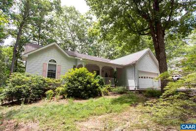 Fluvanna County Single Family Home For Sale: 10 Nahor Dr