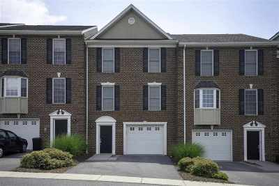 Harrisonburg Townhome For Sale: 2049 Buttonwood Ct