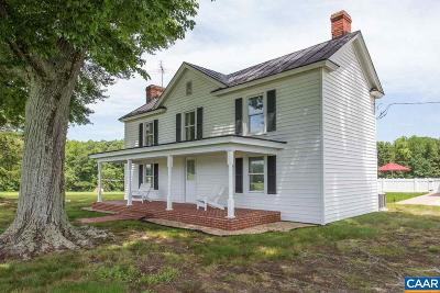 Louisa County Single Family Home For Sale: 2326 Holland Creek Rd