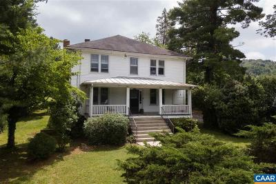 Nelson County Single Family Home For Sale: 486 Front St