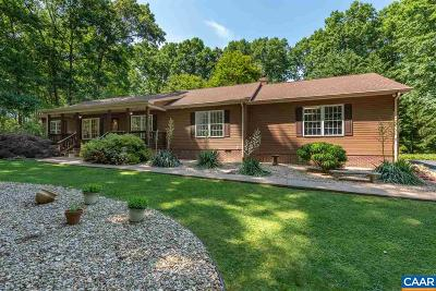Louisa County Single Family Home Active W/Kickout: 2581 Moorefield Dr