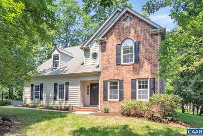 Charlottesville VA Single Family Home For Sale: $384,500