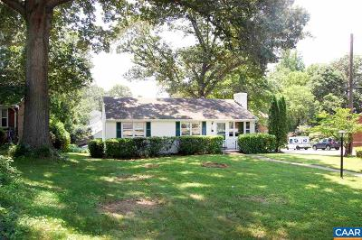 Charlottesville VA Single Family Home For Sale: $299,900