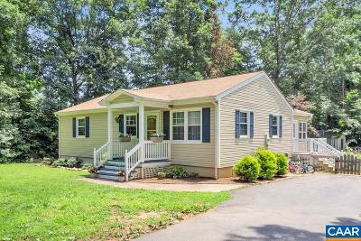 Barboursville Single Family Home For Sale: 1344 Preddy Creek Rd