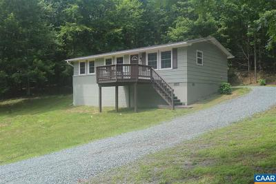 Fluvanna County Single Family Home For Sale: 438 Little Mountain Rd