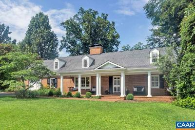 Charlottesville VA Single Family Home For Sale: $1,389,000