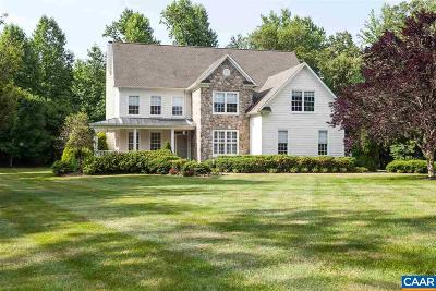 Albemarle County Single Family Home For Sale: 1340 Elderberry Pl