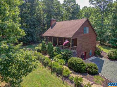Fluvanna County Single Family Home For Sale: 3800 Richmond Rd