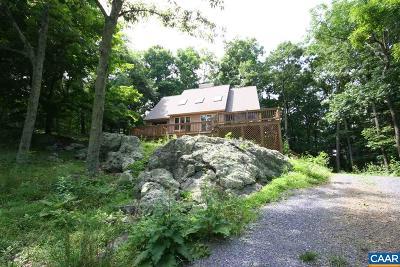 Nelson County Single Family Home For Sale: 1040 Shamokin Springs Trl