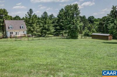 Albemarle County Single Family Home For Sale: 3940 Gilmers Mill Ln