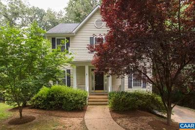 Charlottesville VA Single Family Home For Sale: $460,000
