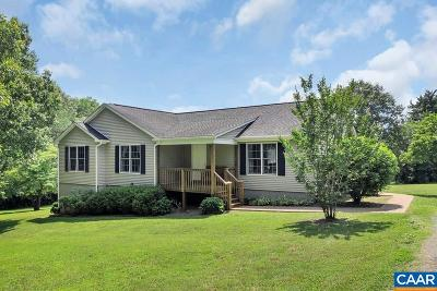 Scottsville VA Single Family Home For Sale: $325,000