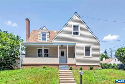 Charlottesville Single Family Home For Sale: 1311 Mountain View St