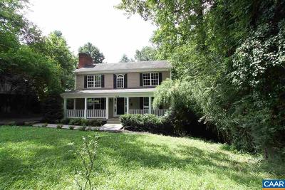 Charlottesville Single Family Home For Sale: 1231 Agnese St