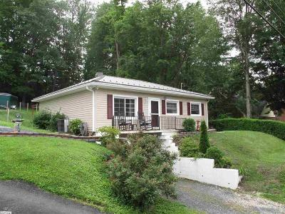 Staunton VA Single Family Home For Sale: $140,000