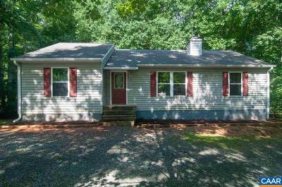 Fluvanna County Single Family Home For Sale: 32 Forest Dr
