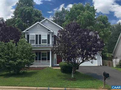Charlottesville VA Single Family Home For Sale: $399,900
