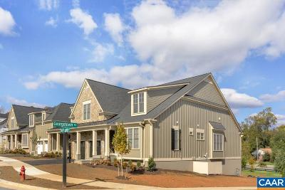 Charlottesville Townhome For Sale: 39 Out Of Bounds Ct