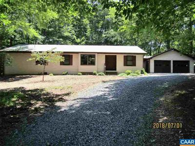 Fluvanna County Single Family Home For Sale: 4 Thrush Ct