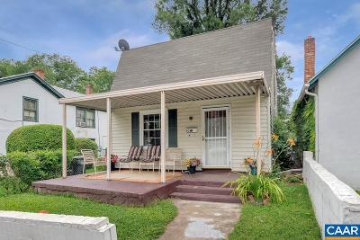 Charlottesville Single Family Home For Sale: 513 NW 12th St
