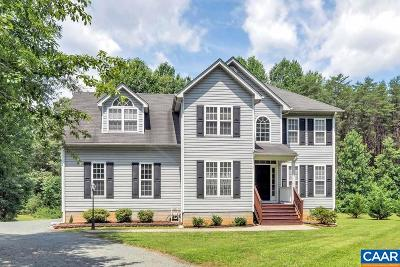 Louisa County Single Family Home For Sale: 191 Columbia Rd