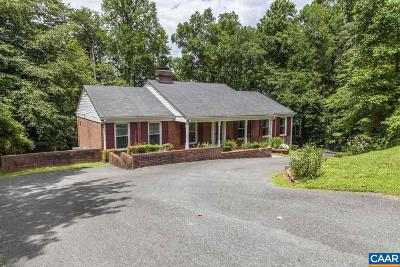 Charlottesville Single Family Home For Sale: 619 Harris Rd