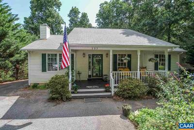 Fluvanna County Single Family Home For Sale: 737 Jefferson Dr