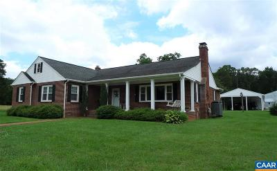 Louisa County Single Family Home For Sale: 6299 S Spotswood Trl