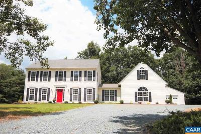Louisa County Single Family Home For Sale: 366 St Ivy Ave
