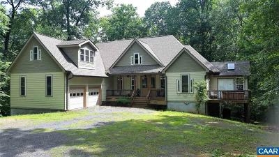 Madison County Single Family Home For Sale: 3314 N Blue Ridge Tpk