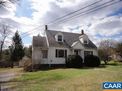 Buckingham County Single Family Home For Sale: 1443 Arvon Rd
