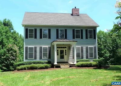 Fluvanna County Single Family Home For Sale: 1349 Georges Mill Rd