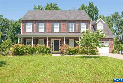 Louisa County Single Family Home For Sale: 112 Apple Orchard Rd